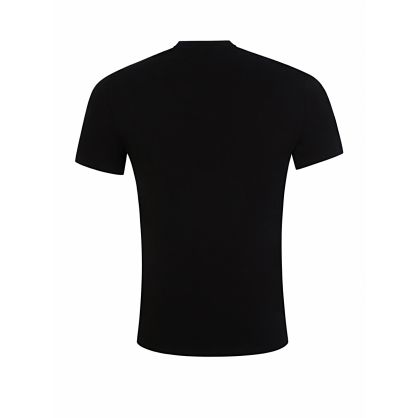 Black Slim-Fit Milano Logo T-Shirt