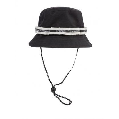 Black Tape Logo Bucket Hat