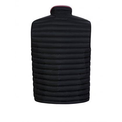 Black Packable Down Filled Gilet