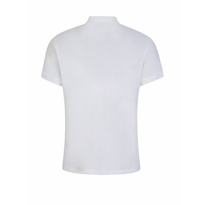 White Milano Logo Polo Shirt