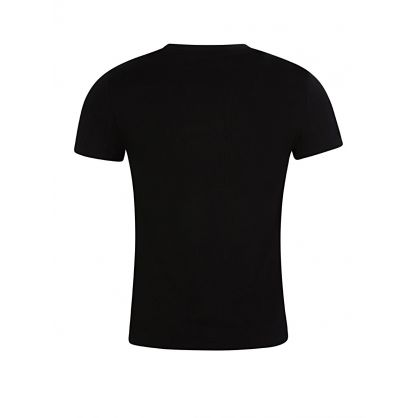 Black Custom Slim Fit Cotton T-Shirt