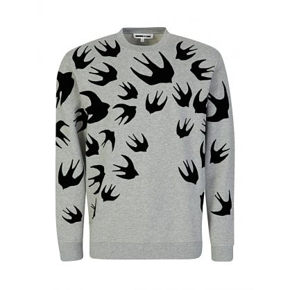 Grey Swallow Sweatshirt