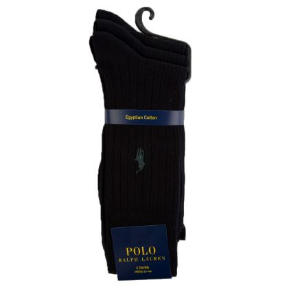 Black 3 Pack Socks