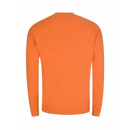 Orange Milano Logo Sweatshirt