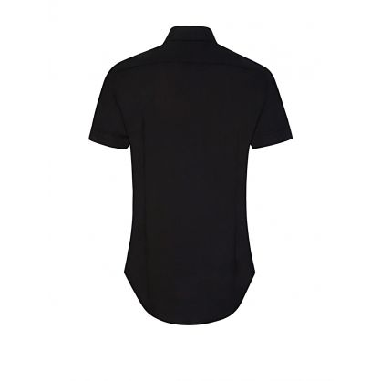 Black Pocket Short Sleeve Shirt