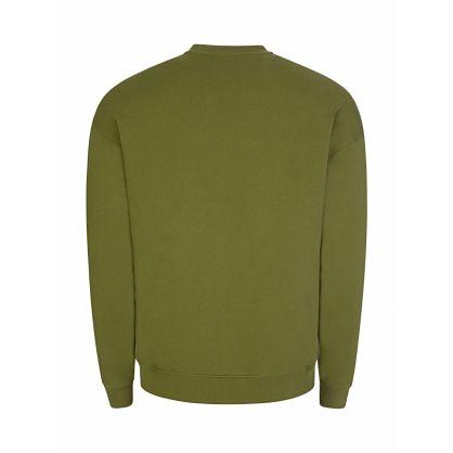 Green Milano Logo Sweatshirt