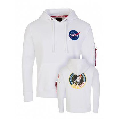 White Space Shuttle Hoodie