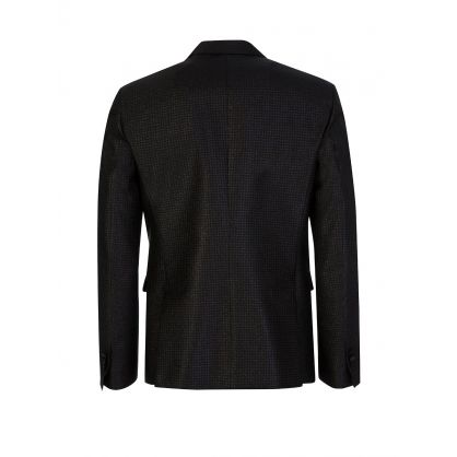 Black Lurex Tailored Blazer