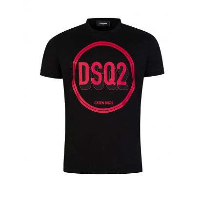 Black 3D Graphic Logo T-Shirt