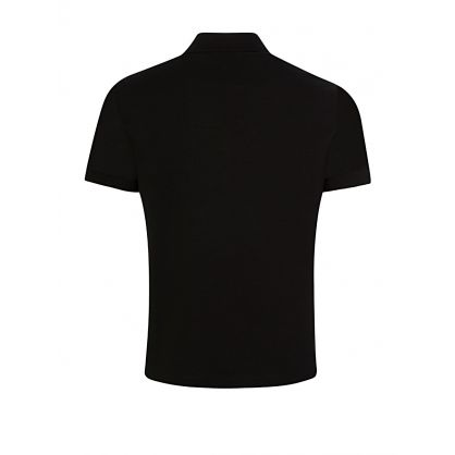 Black Pima Cotton Polo Shirt