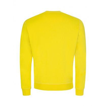 Yellow Milano Print Sweatshirt