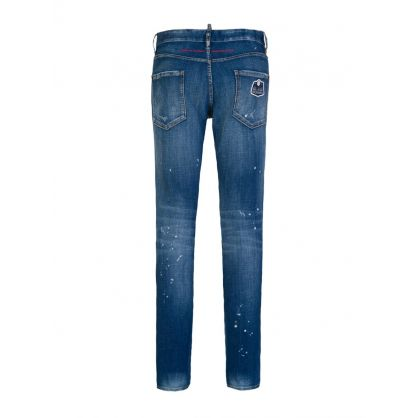 Blue Born in Canada Made in Italy Jeans