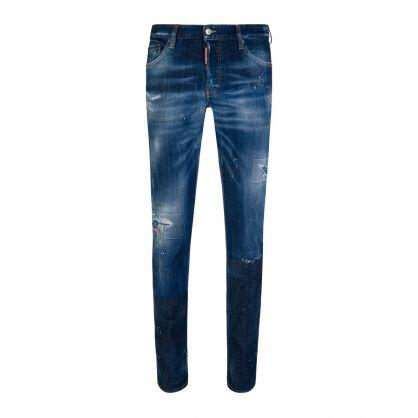 Blue Denim Slim Jeans