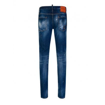 Blue Denim Slim Jeans