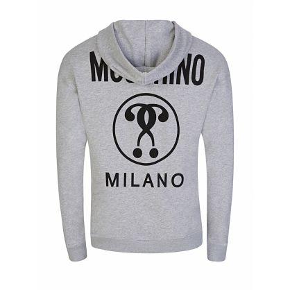 Grey Milano Logo Popover Hoodie