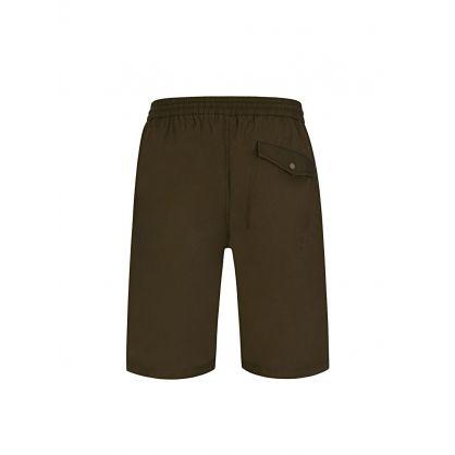 Green 55 Track Shorts