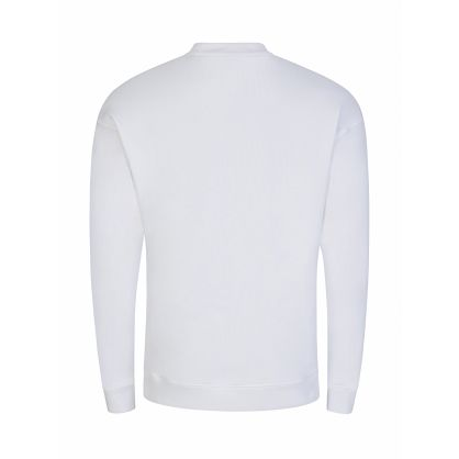White Chest Logo Sweatshirt