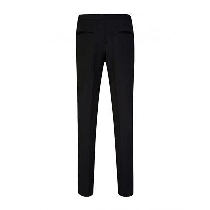 Black Paulie Tuxedo Trousers