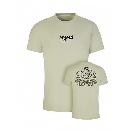 Green Global Grip Print T-Shirt