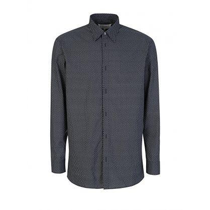 Black/White Paisley Shirt