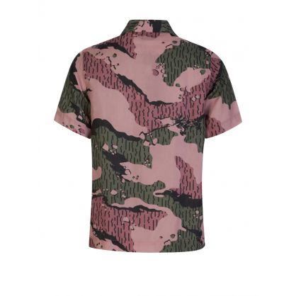 Pink Rain Camo Short-Sleeve Shirt