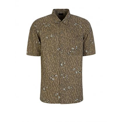 Green Neo-Rain Camo Summer Shirt
