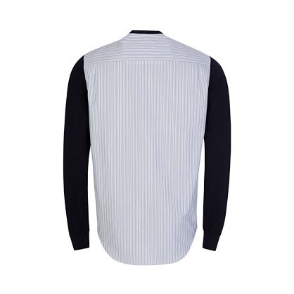 Navy Shirt Jumper