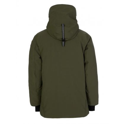 Green Sanford Parka Jacket