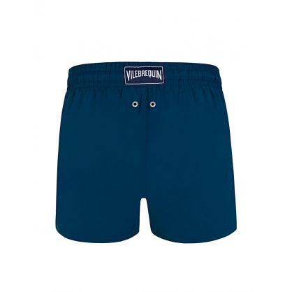 Blue Eco-Friendly Swim Shorts