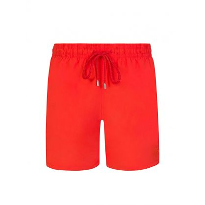 Orange Water-Reactive Swim Shorts