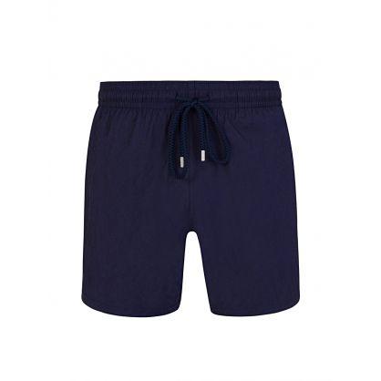 Navy Ronde Des Tortues Swim Shorts