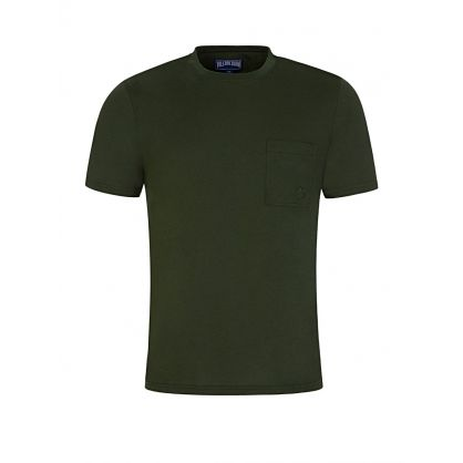Green Organic Cotton T-Shirt