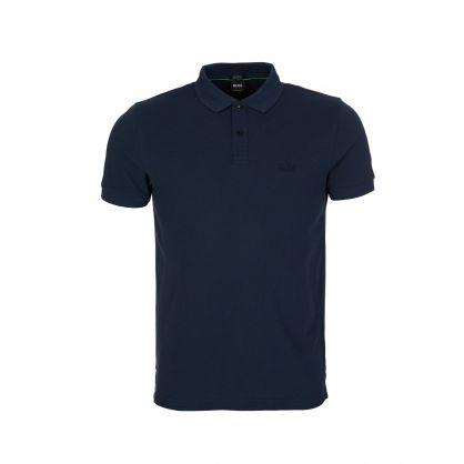 Navy Logo Polo Shirt