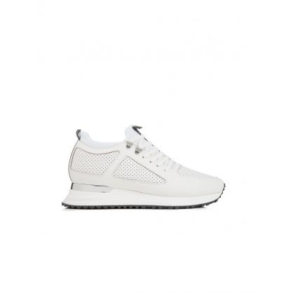 White Driver 2.0 Trainers