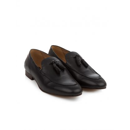 Black Bolton Leather Loafer