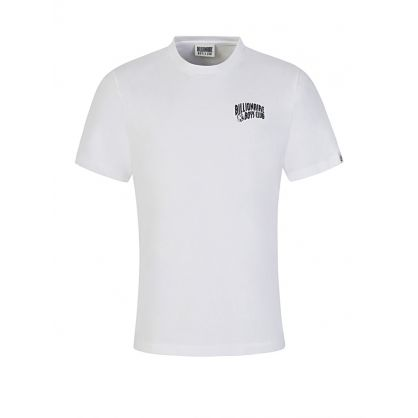 White Small Arch Logo T-Shirt