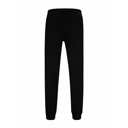Black Reflective Logo Sweatpants