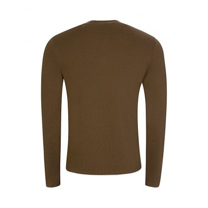 Brown Fine Milano Wool Jumper