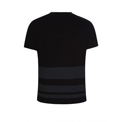 Black Stripe Logo T-Shirt