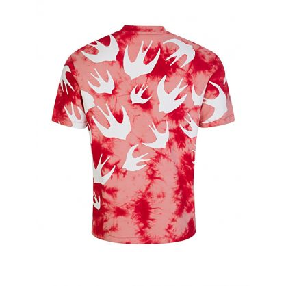Red Tie-Dye Swallows T-Shirt