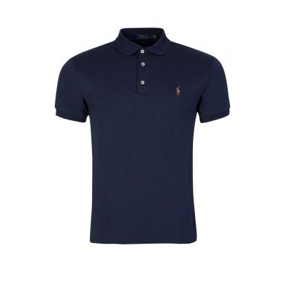 Navy Slim Fit Polo Shirt