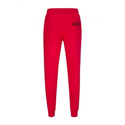 Red Pocket Logo Sweatpants