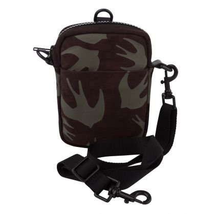 Khaki Medium Crossbody Bag