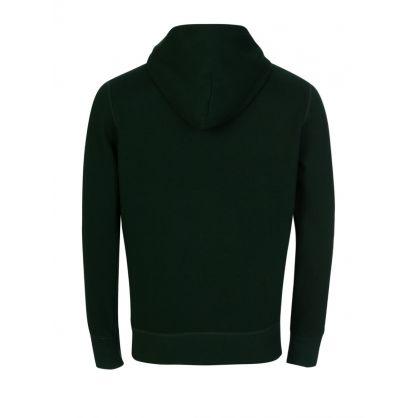 Green Fleece Hoodie
