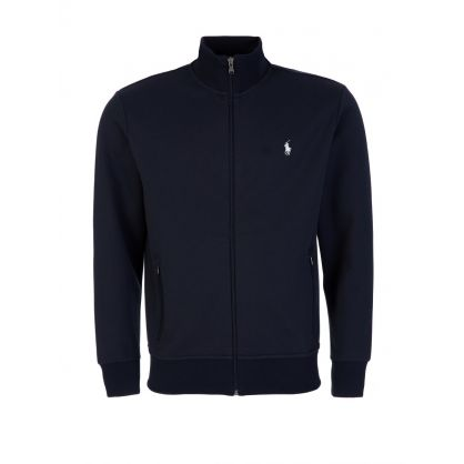 Navy Zip-Through Track Jacket