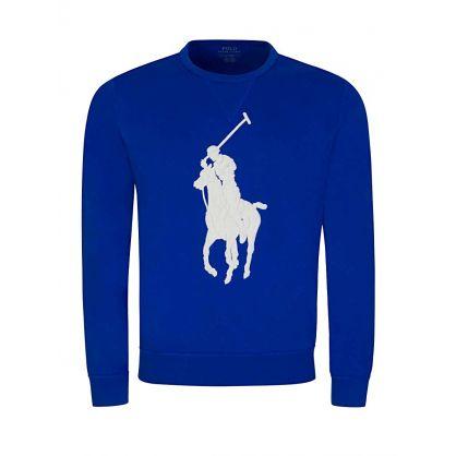 Blue Big Pony Sweatshirt