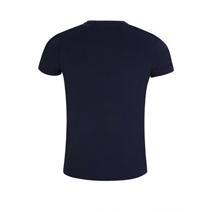 Navy Flag Logo T-Shirt