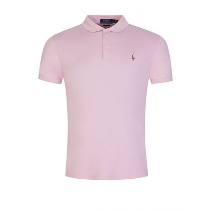 Pink Slim Fit Polo Shirt