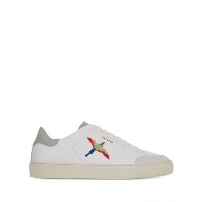 White Clean 90 Bird Trainers