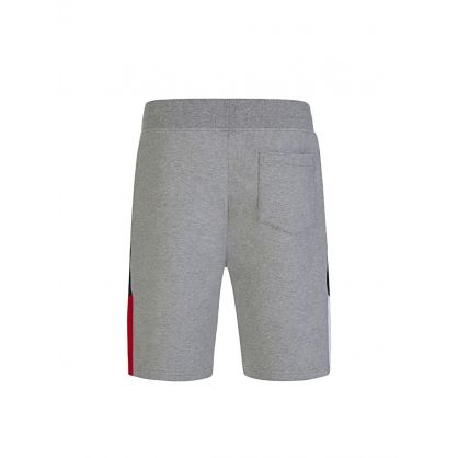 Grey Panel Shorts